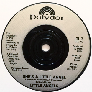 "Little Angels - She's A Little Angel (7"") (EX/NM)"